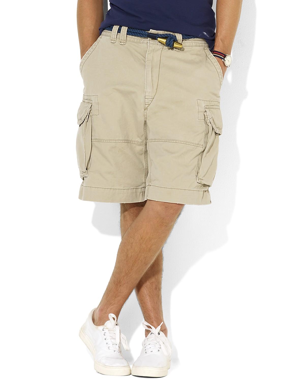 2f0a3b0ded9 Polo Ralph Lauren Mens Colored Pocket Khaki Shorts