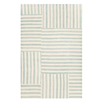 Canyon Stripe Patch Collection Area Rug, 4' x 6'