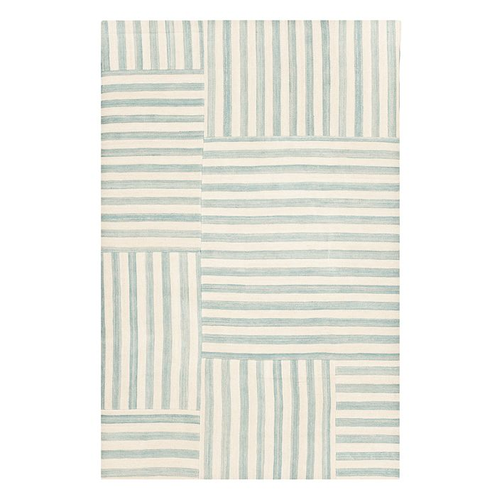 Ralph Lauren - Canyon Stripe Patch Collection Area Rug, 4' x 6'