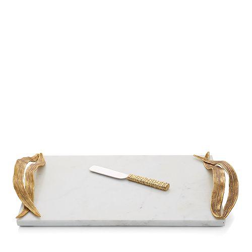 Michael Aram - Palm Cheeseboard & Knife