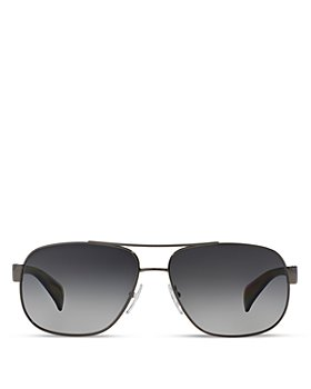 Prada - Men's Polarized Pilot Aviator Sunglasses, 52mm