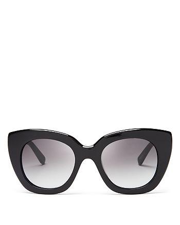 5a8fa12fda6 kate spade new york - Women s Narelle Oversize Thick Rim Cat Eye Sunglasses