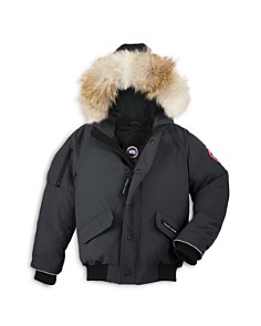 Canada Goose Boys' Rundle Bomber with Fur Hood - Big Kid - Bloomingdale's_0