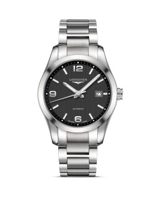 CONQUEST CLASSIC AUTOMATIC BRACELET WATCH, 40MM