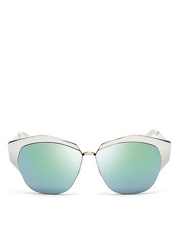 Dior - Women's Mirrored Round Sunglasses, 55mm