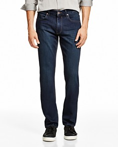 PAIGE - Transcend Federal Slim Fit Jeans in Cellar