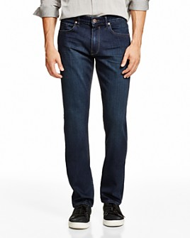 PAIGE - Transcend Federal Slim Straight Fit Jeans in Banner