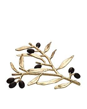 Michael Aram - Olive Branch Gold Trivet