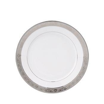 """Philippe Deshoulieres - """"Trianon"""" Platinum Dessert Plate"""