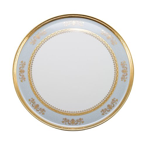 "Philippe Deshoulieres - ""Orsay"" Round Cake Plate"