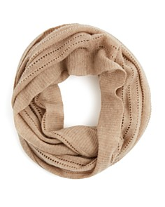 C by Bloomingdale's - Open Knit Cashmere Scarf - 100% Exclusive