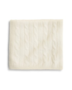 Bloomie's - Infant Unisex Cable-Knit Blanket - 100% Exclusive