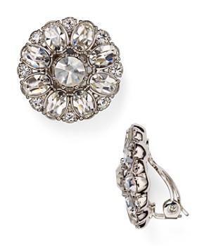 Carolee - Embellished Clip-On Earrings