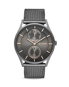 Skagen Smoke Holst Mesh Bracelet Watch, 40mm - Bloomingdale's_0