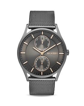 Skagen - Smoke Holst Mesh Bracelet Watch, 40mm