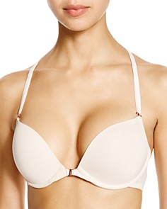Skarlett Blue - Minx Front Close Push-Up Plunge Bra