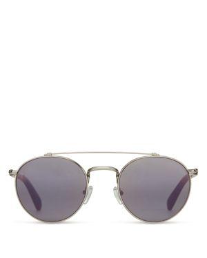 Toms Mirrored Jarret Sunglasses, 51mm