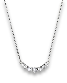 Bloomingdale's - Diamond 7 Stone Necklace in 14K White Gold, 1.50 ct. t.w. - 100% Exclusive