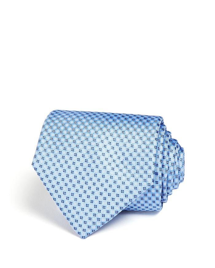 The Men's Store at Bloomingdale's - Micro Grid Wide Tie- 100% Exclusive