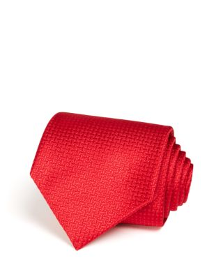 Bloomingdales Boys Boys Classic Blue//Red//White Stripe Silk Tie