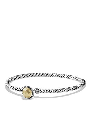 David Yurman - Châtelaine Bracelet with Gold Dome and 18K Gold