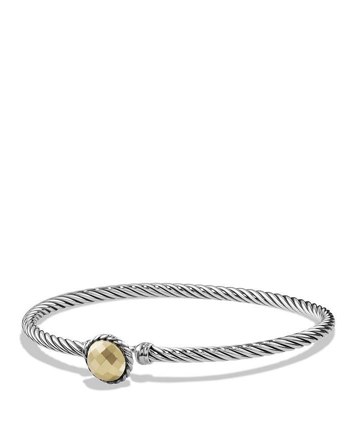 David Yurman - Chatelaine Bracelet with 18K Gold