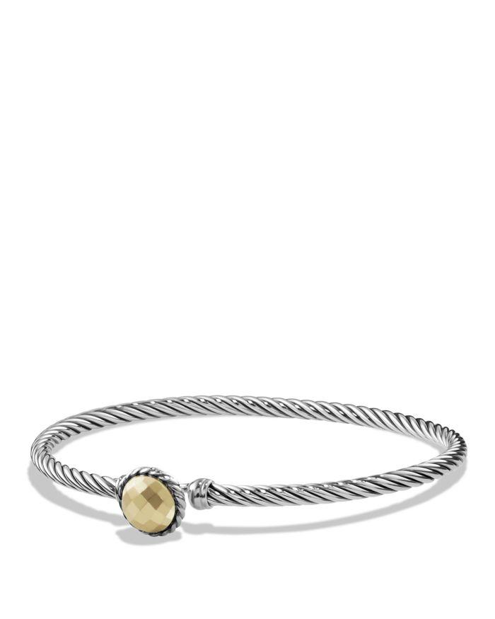 David Yurman Chatelaine Bracelet with 18K Gold    Bloomingdale's