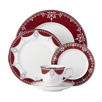 Marchesa by Lenox - Empire Pearl Wine 5-Piece Place Setting