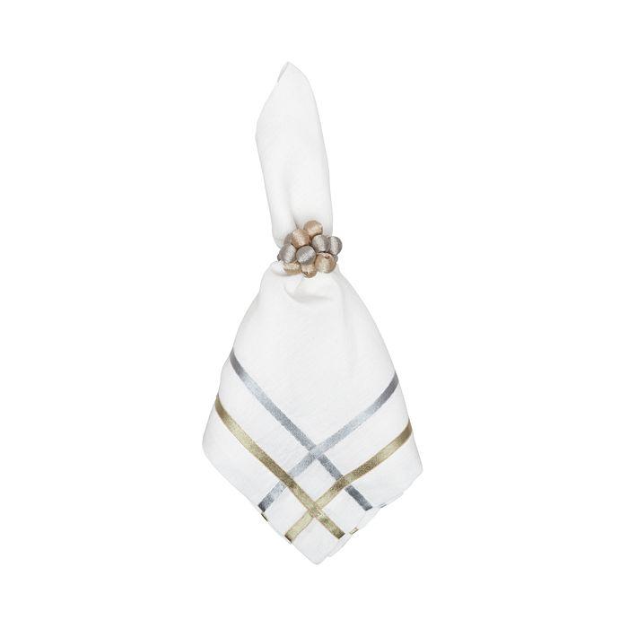 Juliska - Metallic Bead Bouquet Napkin Ring
