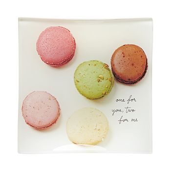 kate spade new york - Square Glass Tray, Macaroons