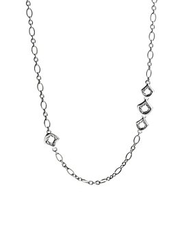 JOHN HARDY - John Hardy Naga Sterling Silver Figaro Chain Necklace with Figurative Clasp, 36""