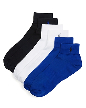 Polo Ralph Lauren Athletic Socks, Pack of 3