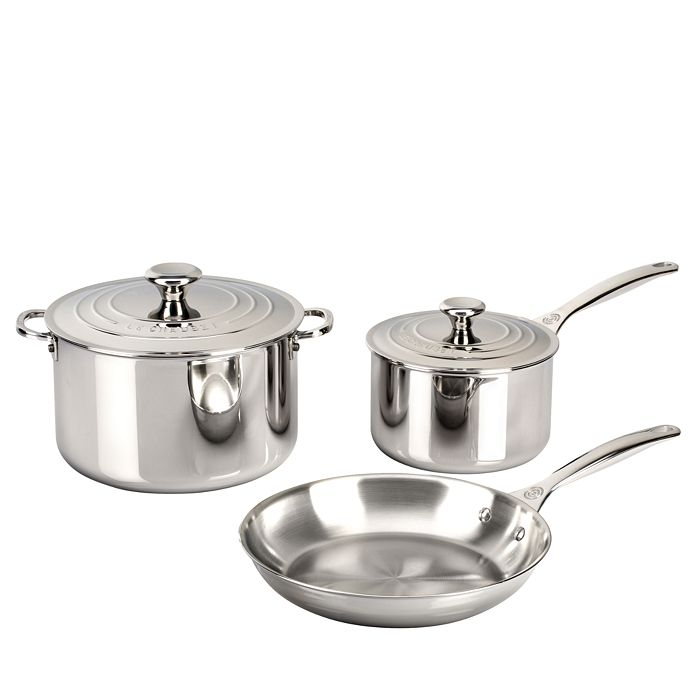 Le Creuset - Stainless Steel 5-Piece Set