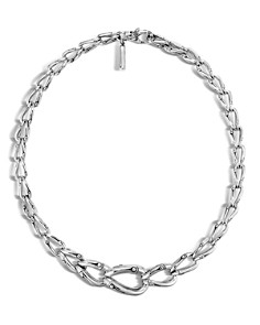 """John Hardy Bamboo Silver Necklace, 17"""" - Bloomingdale's_0"""