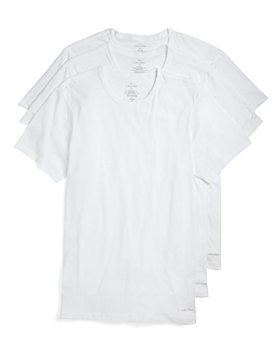 Calvin Klein - Cotton Classics Slim Fit Crew Neck Tees, Pack of 3