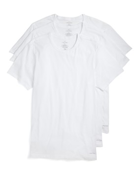 Calvin Klein - Cotton Classics Slim Fit Crew Neck Tees, Pack of 3