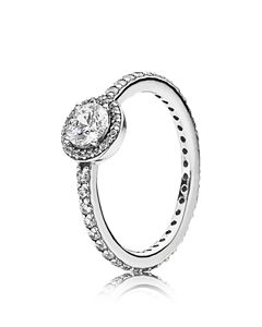 ed992e303 Pandora Rose Gold-Tone Sterling Silver Radiant Elegance Statement ...