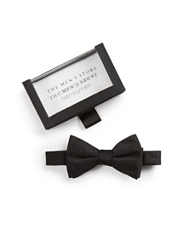 The Men's Store at Bloomingdale's - Solid Satin Pre-Tied Bow Tie - 100% Exclusive