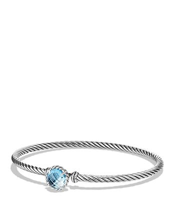 David Yurman - Châtelaine Bracelet with Blue Topaz