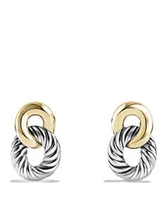 David Yurman Belmont Drop Earrings With 18k Gold Bloomingdale S 0