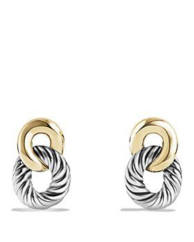 David Yurman - David Yurman Belmont Drop Earrings with 18K Gold