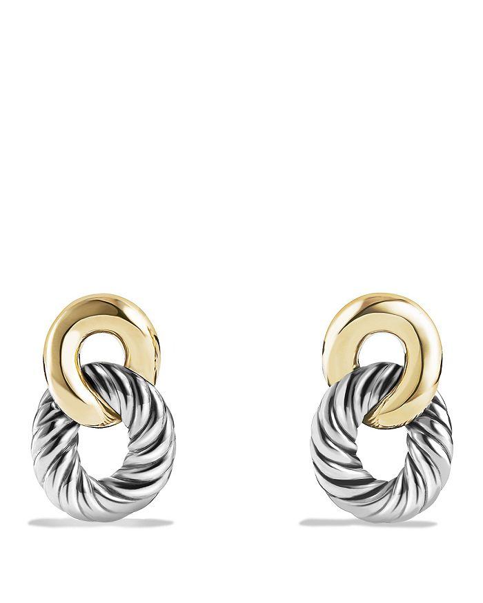 David Yurman - David Yurman Belmont Drop Earrings with 18K Gold