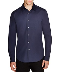 Theory Sylvain Wealth Button-Down Shirt - Slim Fit - Bloomingdale's_0