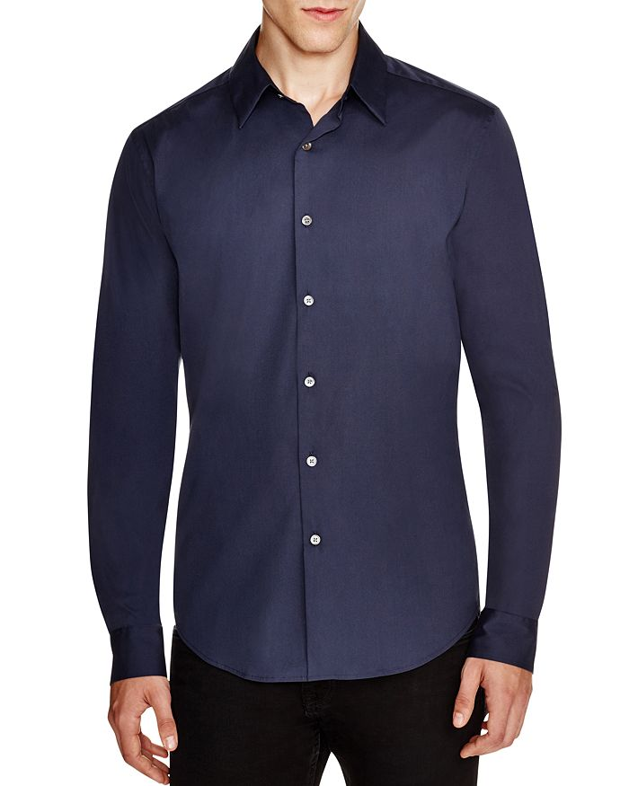 a17aa43664b77 Theory - Sylvain Wealth Button-Down Shirt - Slim Fit