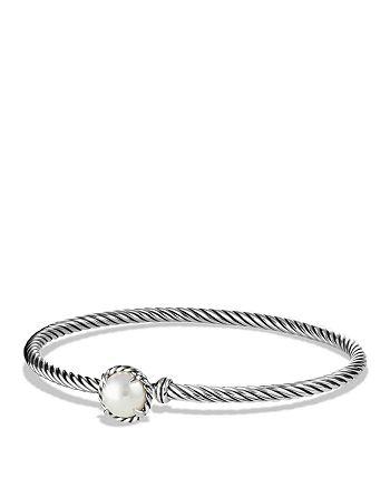 David Yurman - Châtelaine Bracelet with Pearls
