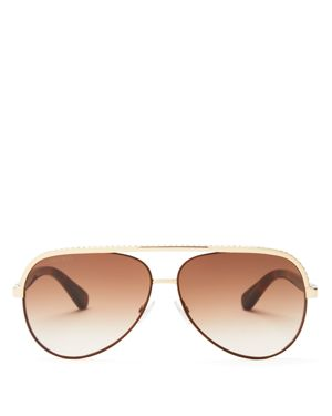 Jimmy Choo Aviator Sunglasses, 59mm
