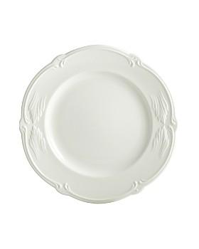Gien France - Rocaille White Dessert Plate