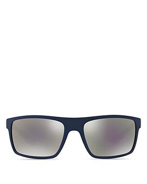 Prada Rectangle Wrap Sunglasses, 62mm