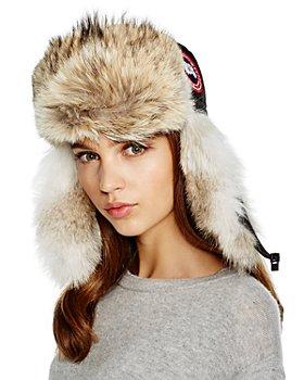 Canada Goose - Coyote Fur Aviator Hat
