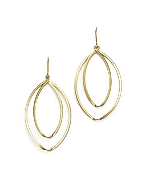 14K Yellow Gold Double Twist Drop Earrings - 100% Exclusive
